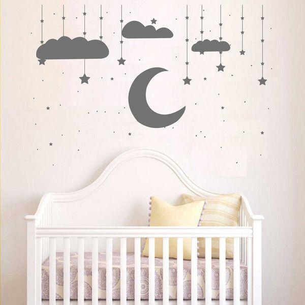 Die besten 25+ Wandtattoo babyzimmer Ideen auf Pinterest - babyzimmer sterne photo