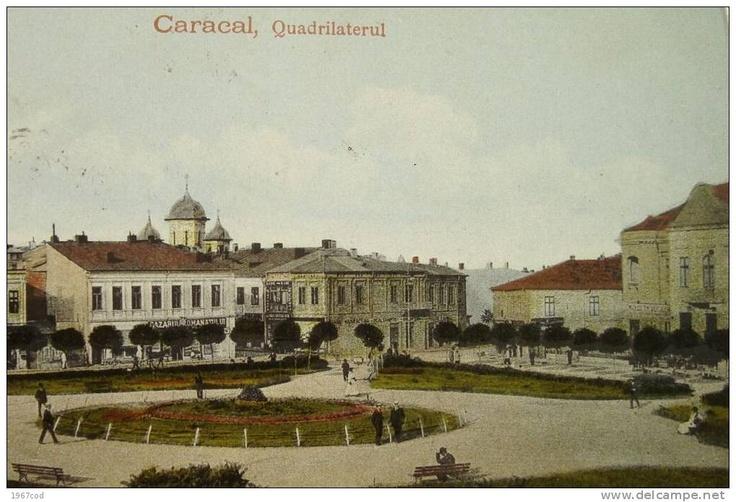 CARACAL -  Quadrilaterul, Bazarul Romanilor - 1925