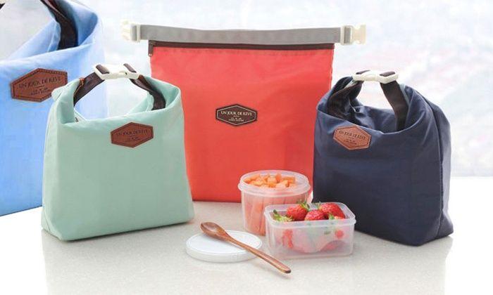 Groupon Goods Global GmbH: Bolsa térmica para llevar comida desde 6,98 € (hasta 76% de descuento)