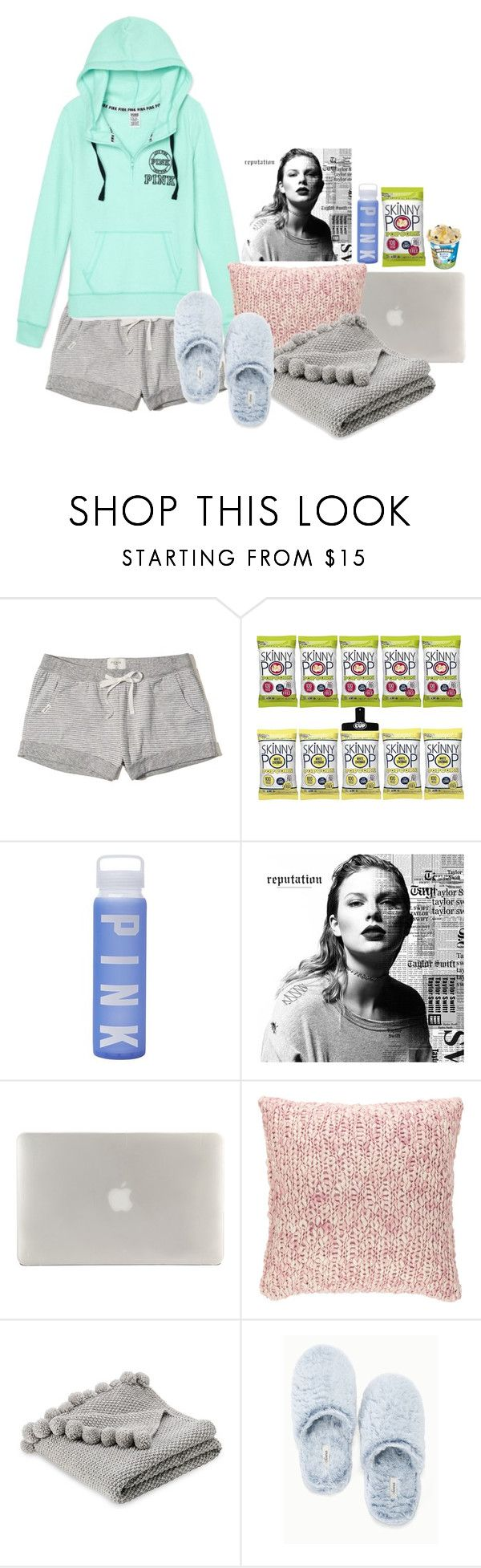 """I just bought Reputation!"" by preppypuffpuff on Polyvore featuring Hollister Co., Victoria's Secret, Tucano, Pine Cone Hill and Soma"