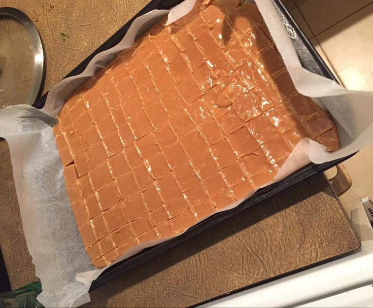 Recipe Scottish Tablet (Crumbly Caramel Fudge) by tschl25 - Recipe of category Baking - sweet