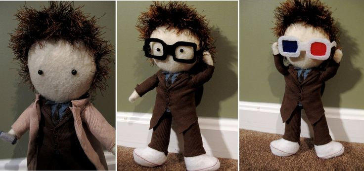 Doctor Who plushie.