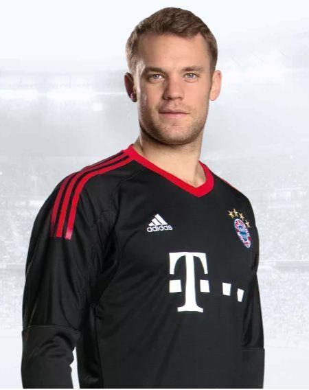 a5a93654a 2018 FC bayern munich Manuel Neuer