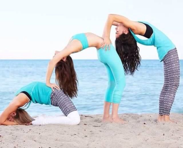 Pin By Shannon Briggs On God Jesus 3 Person Yoga Poses Yoga