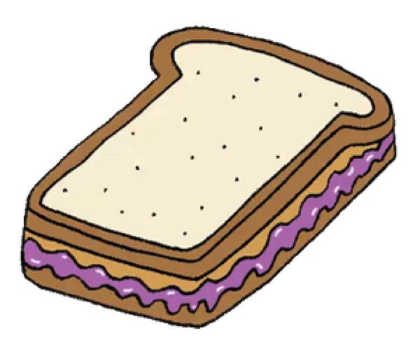 26+ Peanut butter and jelly sandwich clipart information