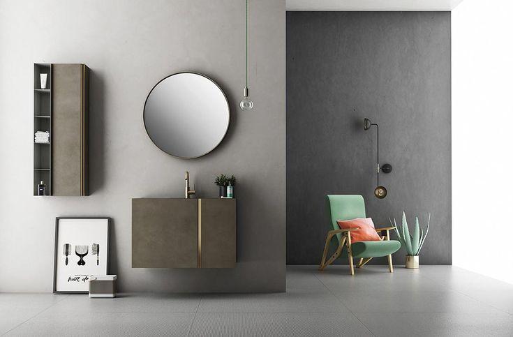 Opera est une collection de meubles de salle de bain extrêmement raffinée, inspirée au buffet scandinave des années Cinquante et Soixante. Elle est caractérisée par une poignée positionnée horizontalement pour les conteneurs et verticalement pour les portes battantes et éclairée par la splendeur des finitions en laiton et cuivre. Les matériaux utilisés vont des essences …