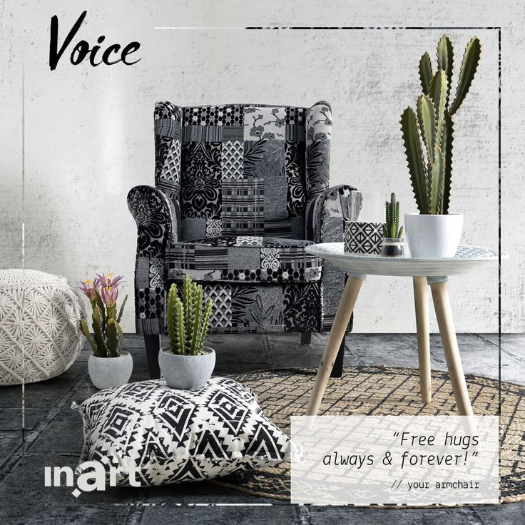 What would your armchair say if it could speak? #inartVoice