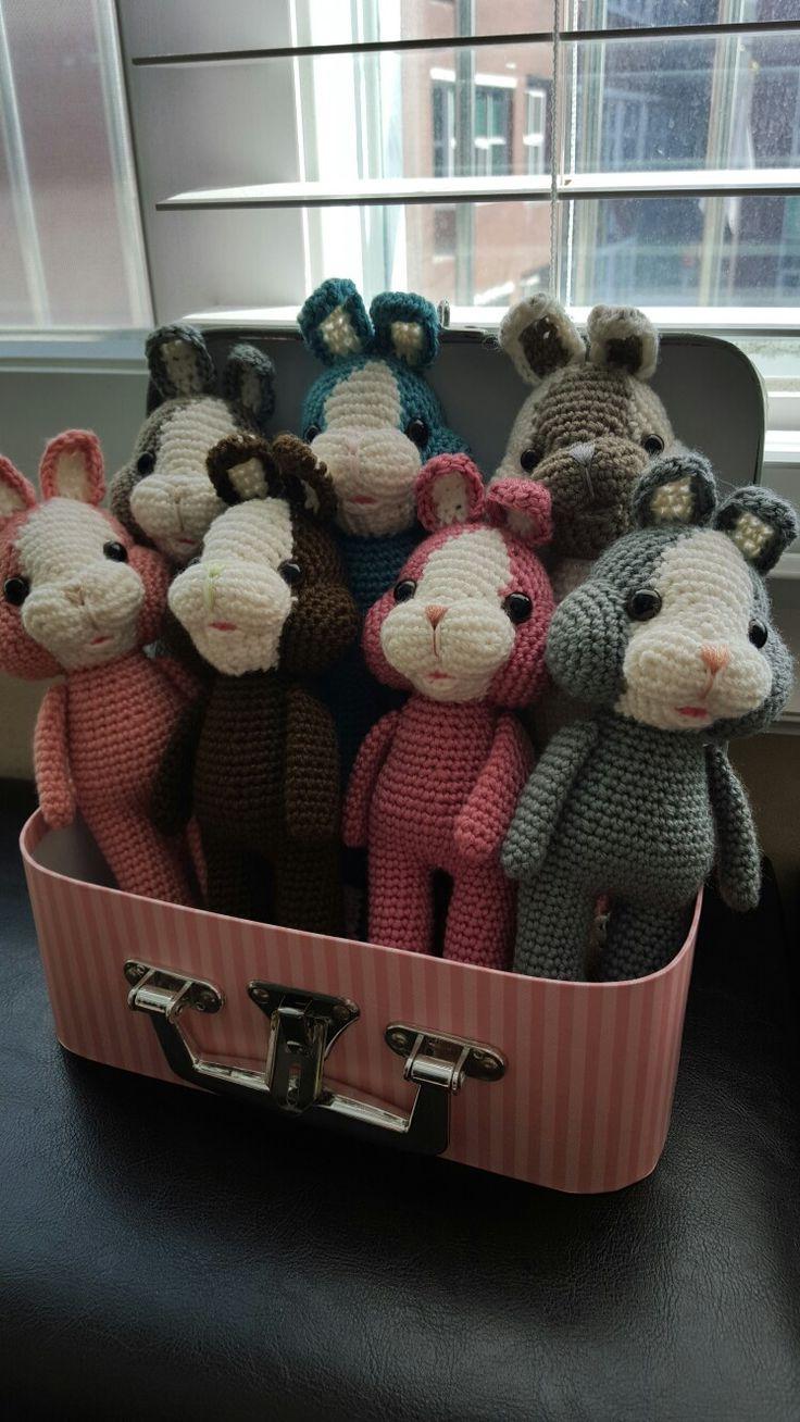crochet rabbit dolls amigurumi  anjs2004.blog.me