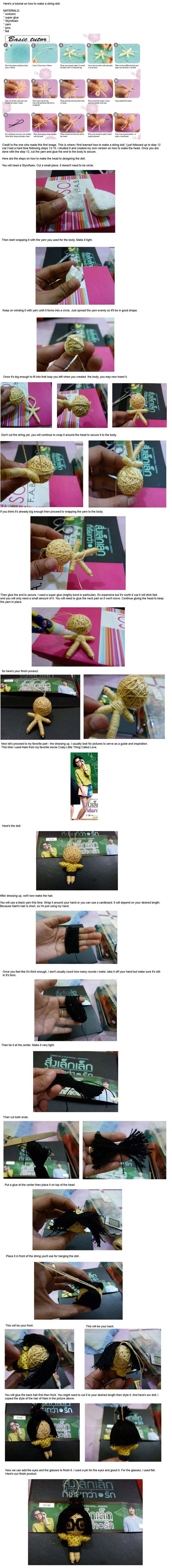 string doll tutorial by Em-Ar-Ae.deviantart.com on @DeviantArt