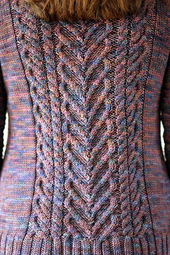 I Heart Cartigans pattern by Tanis Fiber Arts
