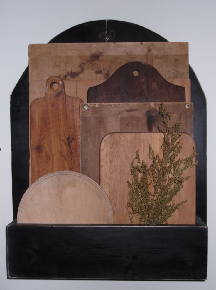 Many bread boards I have collected, we make the holder and ...