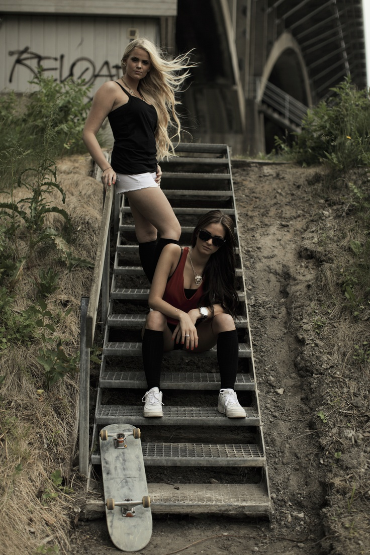 Did a quick photoshoot with two of my girls from ...