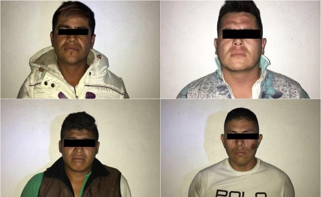 #DESTACADAS:  Detiene PF a 4 asaltantes de transporte en Amecameca - El Universal