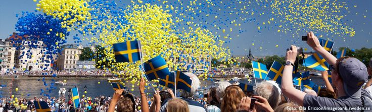 Kansallispäivä Tukholmassa