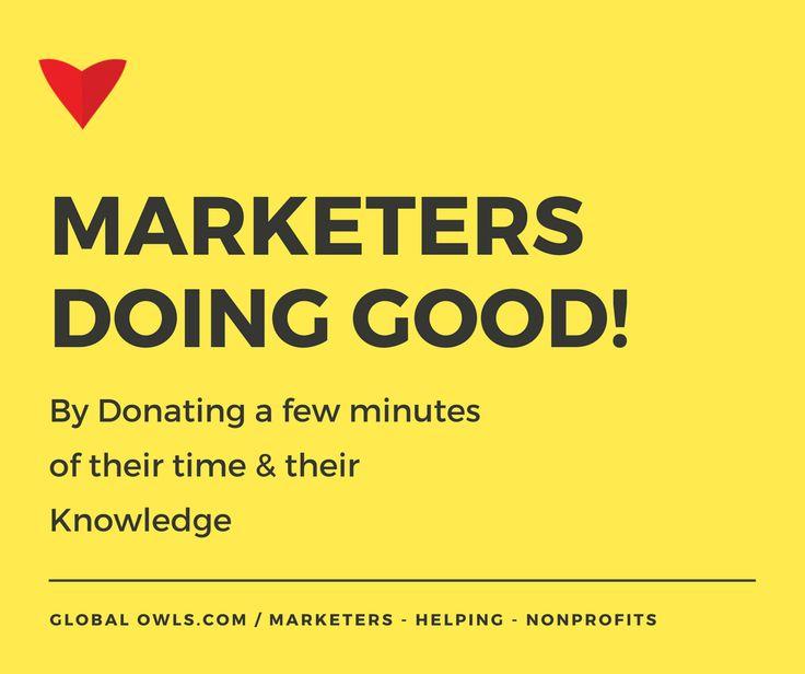 https://globalowls.com/marketers-helping-nonprofits/