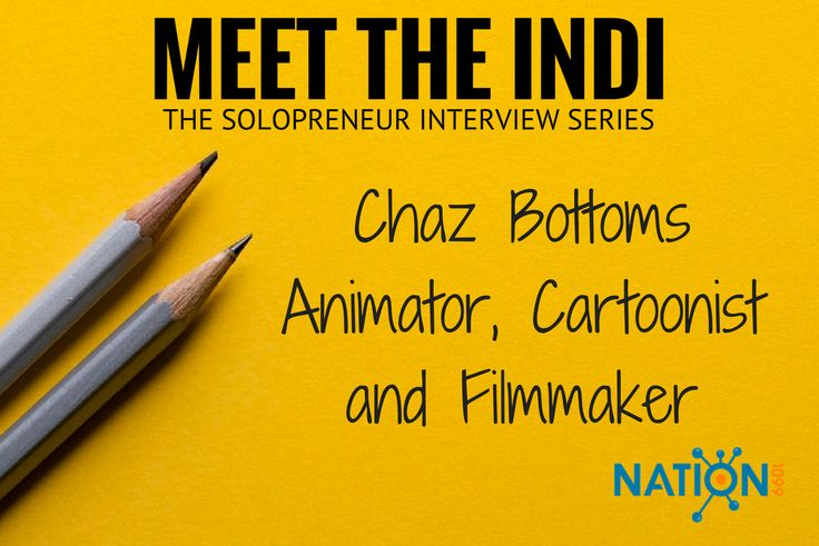 Award winning freelance cartoonist and animator Chaz Bottoms shares his tips for building a steady flow of work and great relationships in the gig economy. See his @nation1099 interview here!