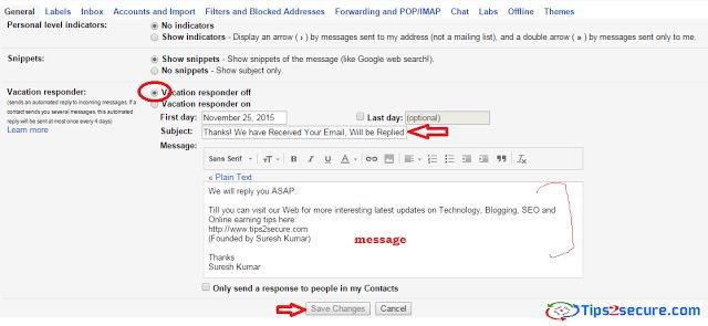 how to set up auto repmy to annoying emails