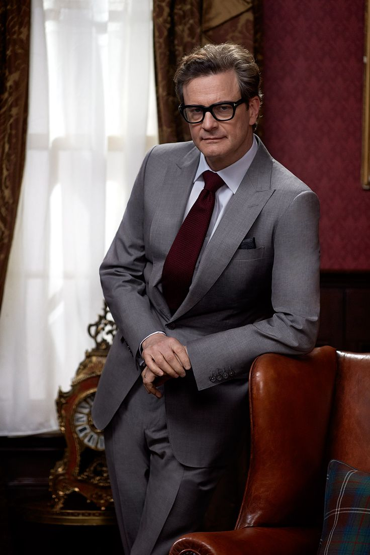 Colin Firth: Kingsman: The Secret Service. Colin must be so pleased with the success of this movie!