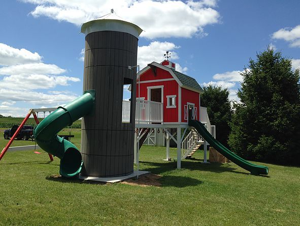 1000 Ideas About Outdoor Play Structures On Pinterest
