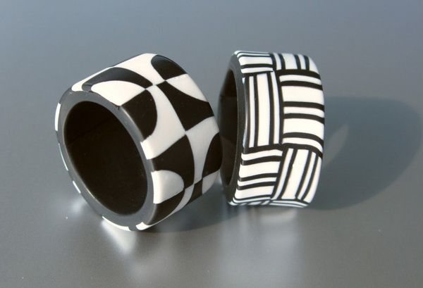 Retro Rings by ST-ART-CLAY   Polymer Clay Planet