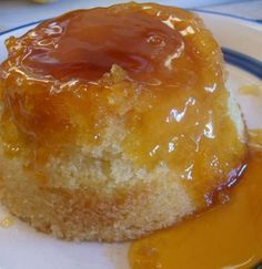 Microwave Golden Syrup Pudding