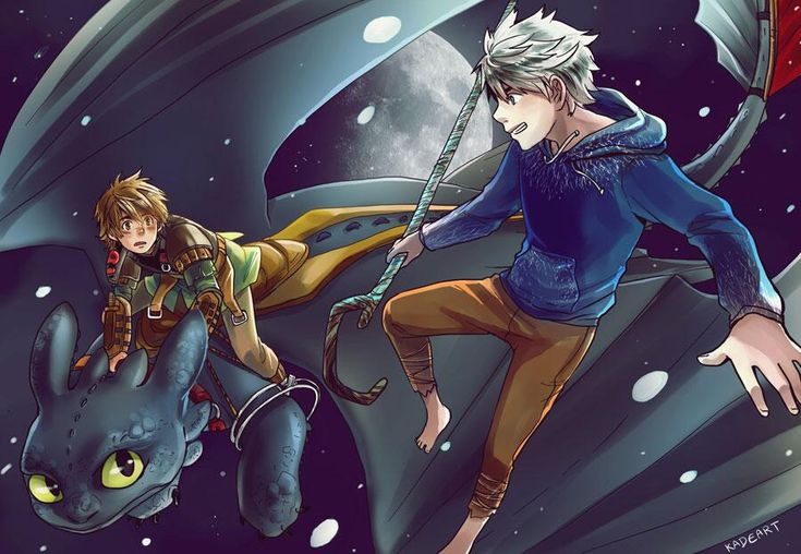 Drawn By Kadeart0 ... Rise Of The Guardians, Jack Frost