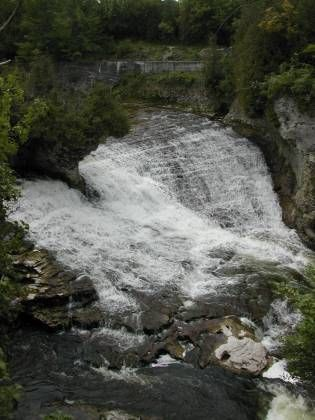 Elora Gorge Falls, Elora, Ontario