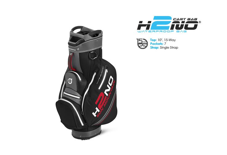 Golf Bags - Waterproof Collection: H2NO Lite Cart Bag. Sun Mountain waterproof golf bag.