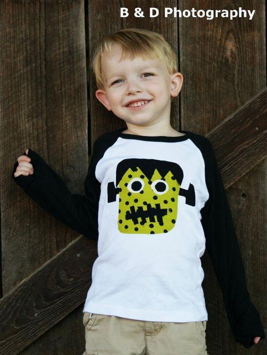 Halloween Monster T-Shirt