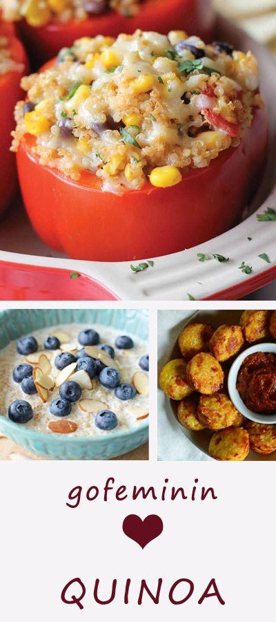 Lust auf Quinoa? Hier gibt's super einfache Quinoa-Rezepte: http://www.gofeminin.de/kochen-backen/quinoa-rezepte-s1548361.html