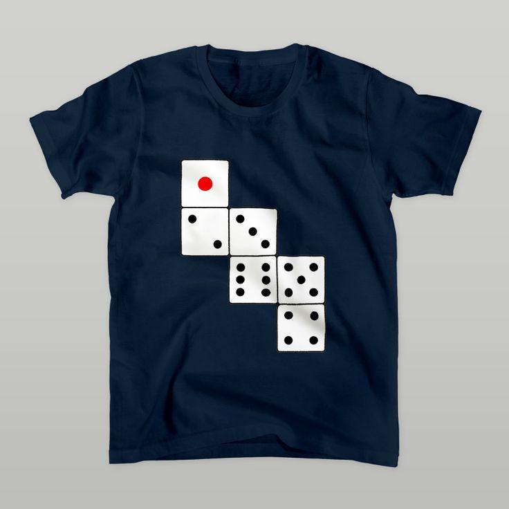 サイコロ展開図 Tシャツ