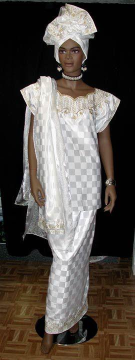 African wedding dress (a favourite repin of VIP Fashion Australia www.vipfashionaustralia.com -