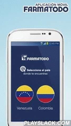Farmatodo  Android App - playslack.com ,  La aplicación móvil oficial de Farmatodo, te permite disfrutar de los productos y servicios de tu tienda favorita en Venezuela y Colombia.Instala esta aplicación en tu dispositivo móvil y podrás disfrutar de:Venezuela- Consulta de productos y precios, ahora con lector de código de barras para una búsqueda más precisa y veloz.- Ubicación de farmacias de acuerdo a tu ubicación actual, ciudad, calle o zona.- Registro al Programa de Cliente Frecuente Mi…