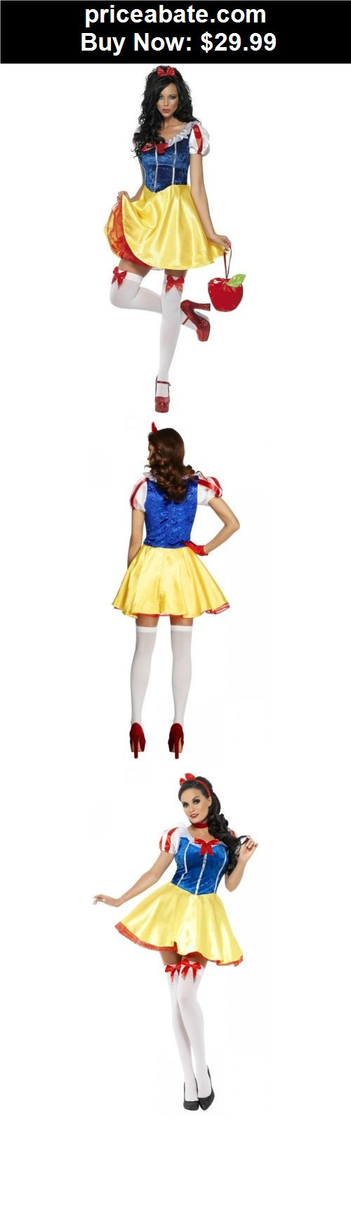 Women-Costumes: Sexy Snow White Costume Adult Fairytale Princess Halloween Fancy Dress - BUY IT NOW ONLY $29.99