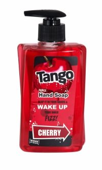 Tango Fierce Hand Soap 350ml Cherry Beware of the bite! Slap it in your hands and wake up your inner fizz!