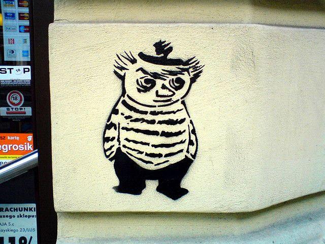 Too-Ticky, Moomin stencil
