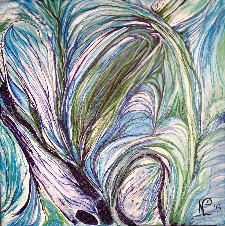 """Sinew"" original acrylic on canvas by Natasha Lowenthal www.natashalowenthal.com"