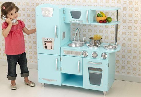 KidKraft Vintage Kitchen in Blue - MyUrbanChild