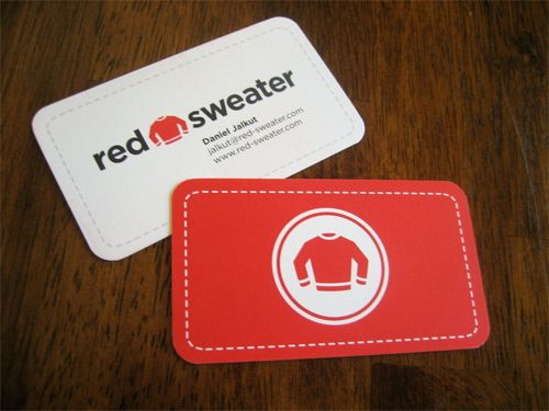 14 best images about Red Business Cards on Pinterest