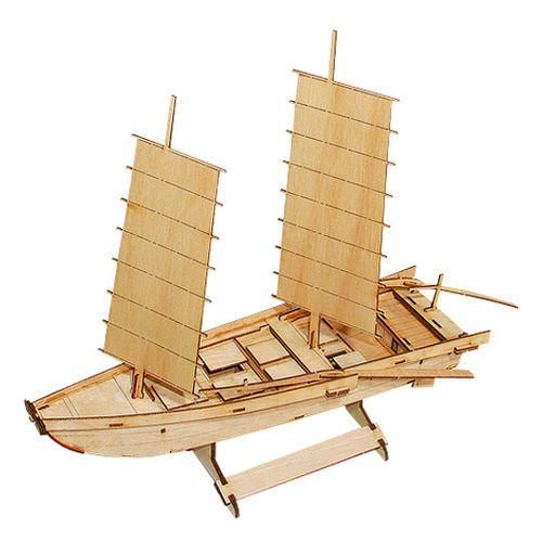 Wooden Model Ship Kits Junior Series- Scale models Korea Ship 2