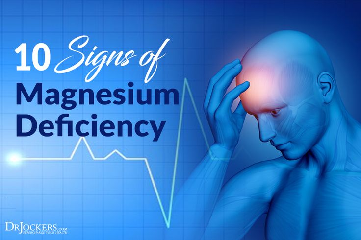 10 Signs Of Magnesium Deficiency - DrJockers.com