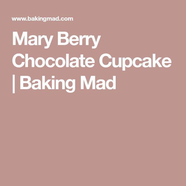 Mary Berry Chocolate Cupcake | Baking Mad