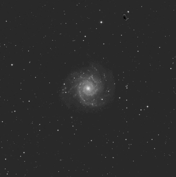 Object Name: Messier 74 Alternative Designations: M74, NGC 628 Object Type: Sc Spiral Galaxy Constellation: Pisces Right Ascension: 01 : 36.7 (h:m) Declination: +15 : 47 (deg:m) Distance: 35000 (kl…