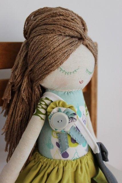 Cloth Doll Plush : Betty