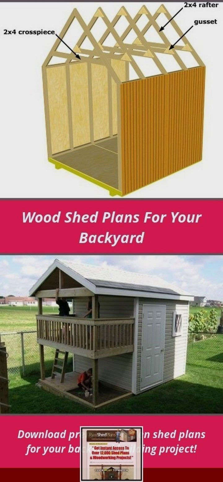 Pin On Storage Shed Plans Diy
