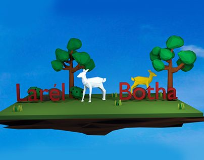 """Check out new work on my @Behance portfolio: """"3D Fawn"""" http://be.net/gallery/37228767/3D-Fawn"""