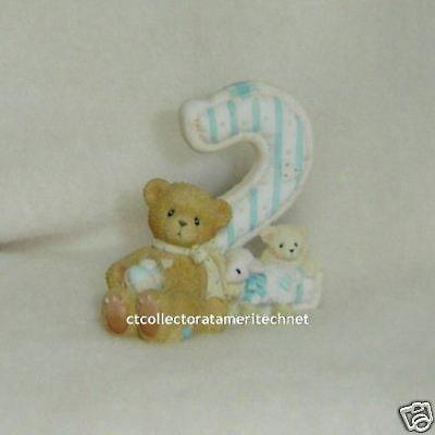 Cherished Teddies Teddies To Cherish Number Age 2  2004 NEW #CherishedTeddies