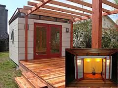 contemporary shed - Google Search
