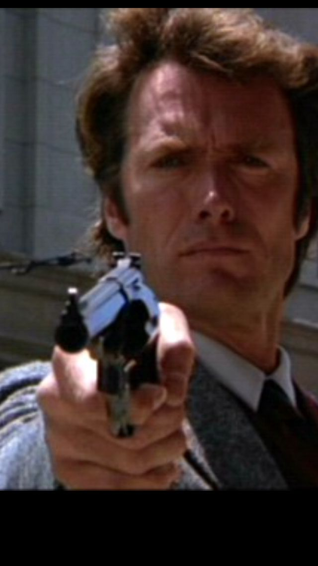 """Go ahead, make my day""   Harry Callahan  Sudden Impact (1983)"