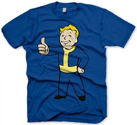 Fallout T-Shirt Thumbs Up Official T Shirt